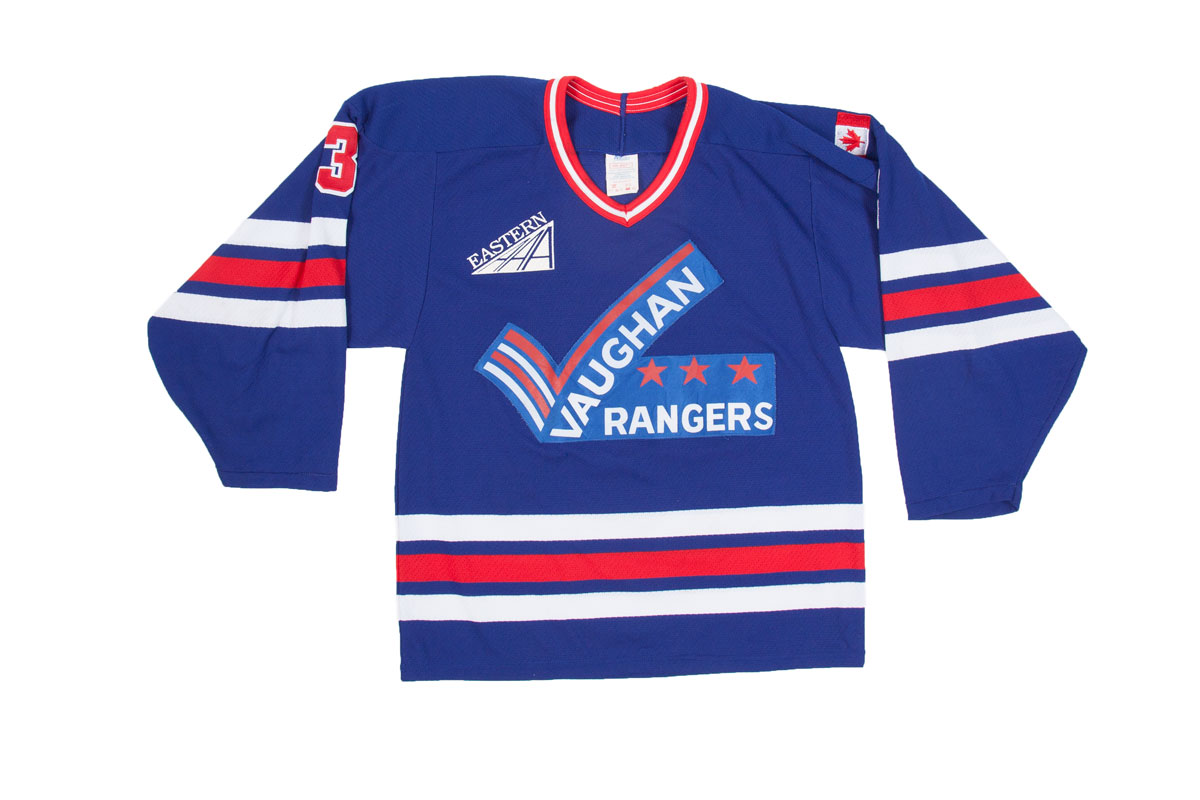 promo code 544a7 6aaac Vintage Vaughan Rangers jersey, 3 L