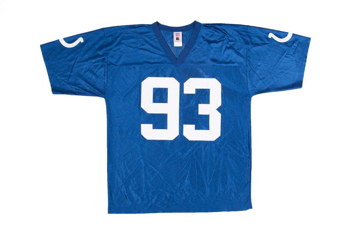 Vintage Indianapolis Colts jersey, Dwight Freeney 93, L