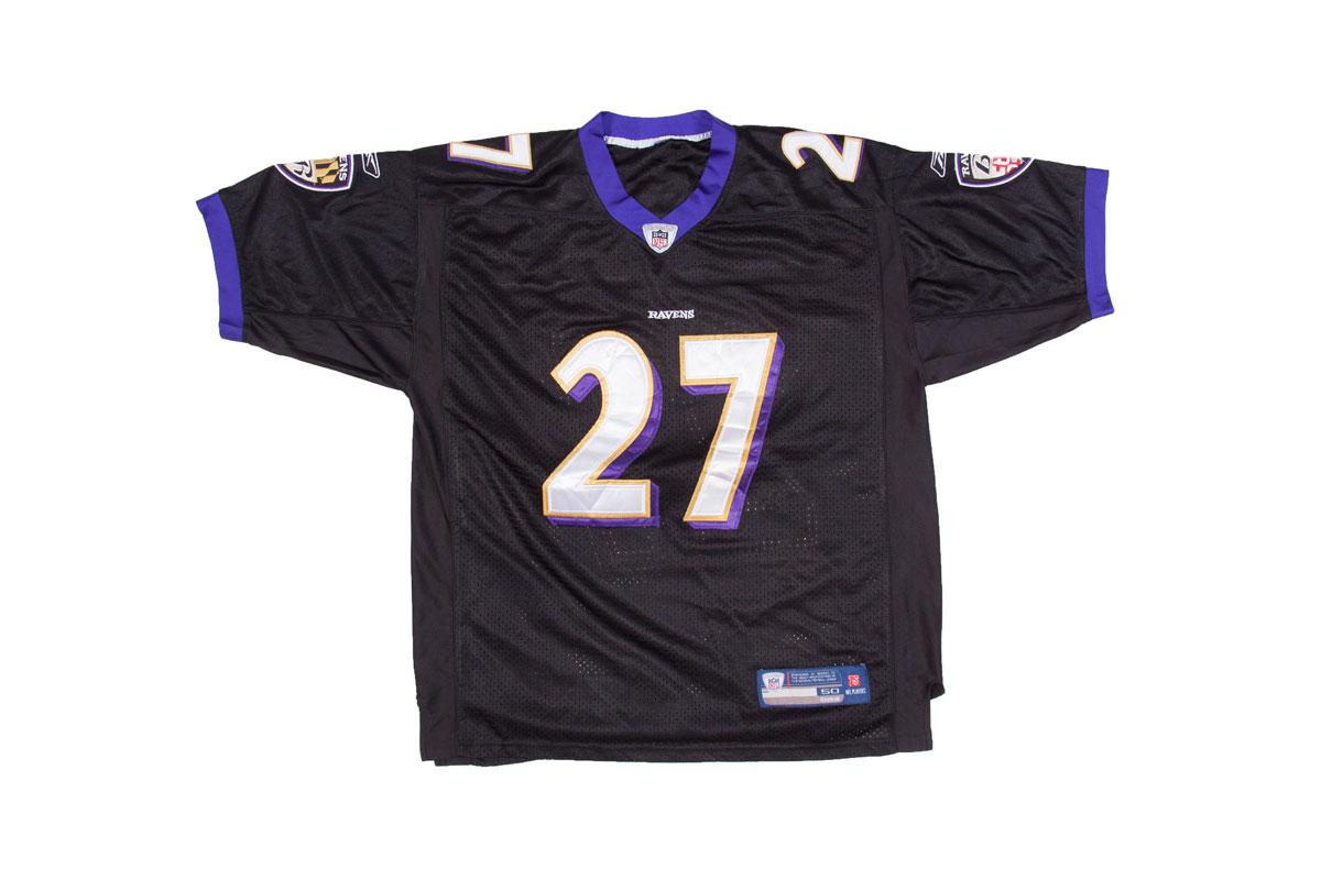 Vintage Baltimore Ravens jersey, Rice 27, L