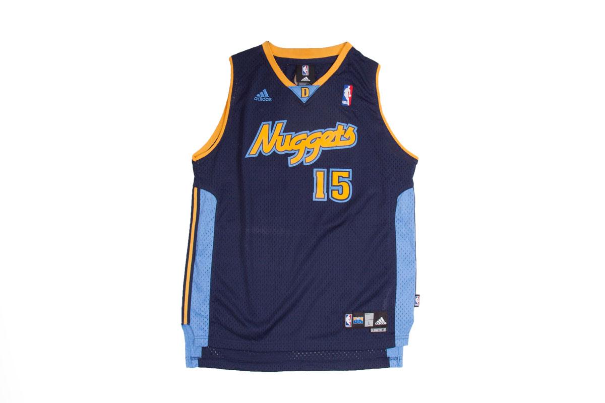buy popular 240fc e9c8c Vintage Denver Nuggets jersey, Anthony 15, M
