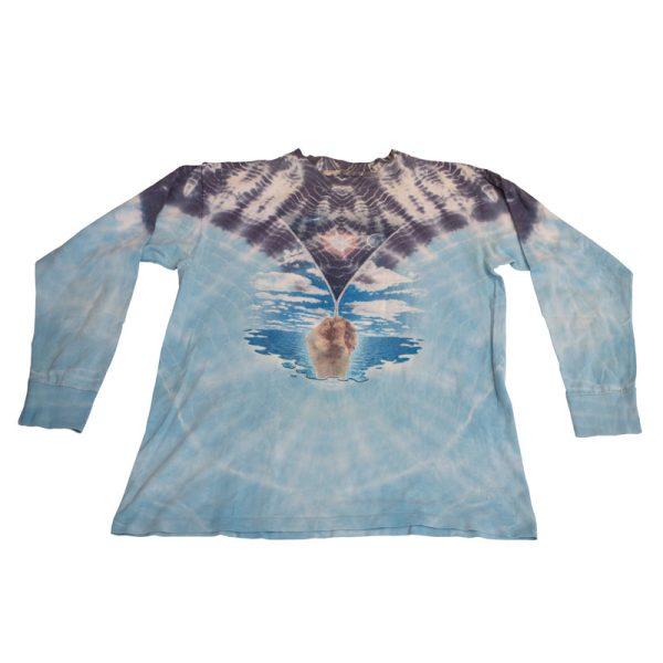 Surrealist tye dye long sleeve